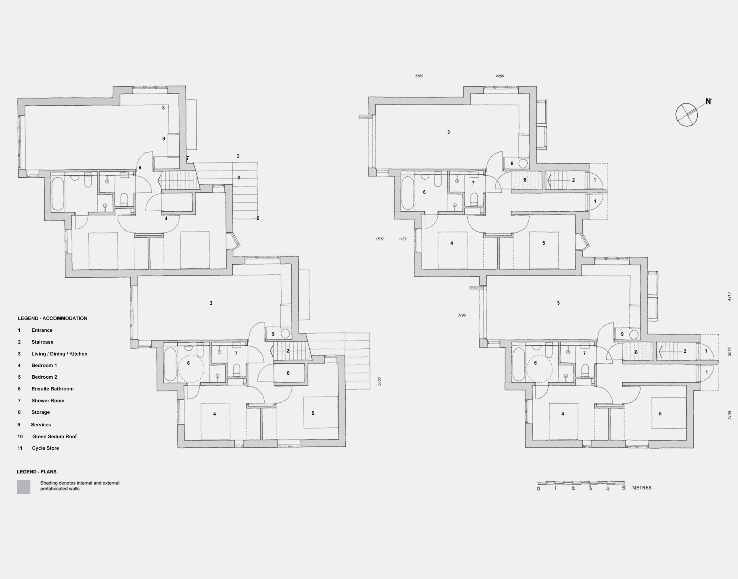 Low energy M - floor plans