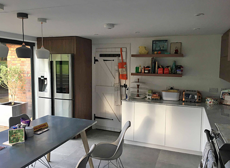 Family dwelling refurbishment, kitchen