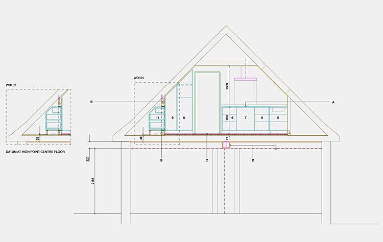 Refurbishment outbuildings section