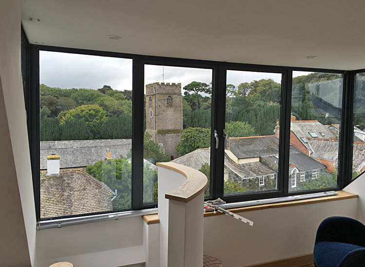 Town house view